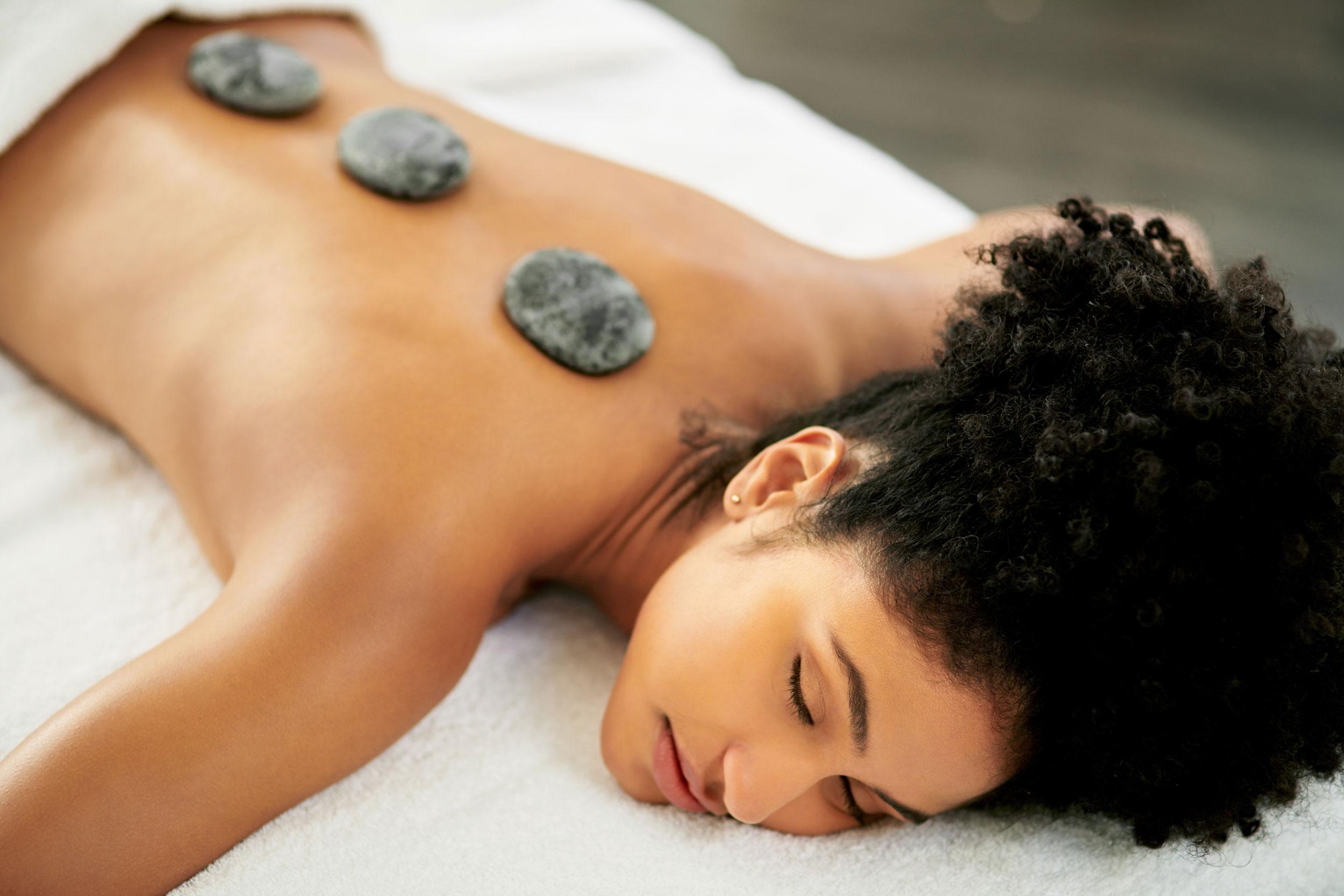 R&R Spa Hot Stone Massage Treatment