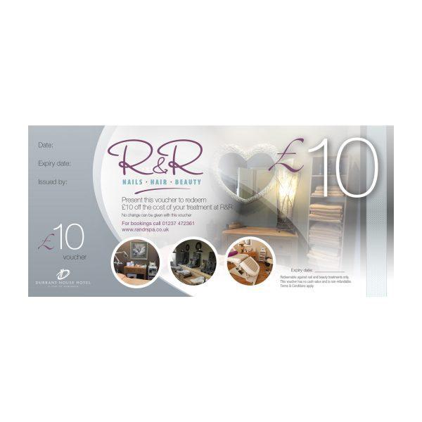 R&R Spa £10 gift voucher