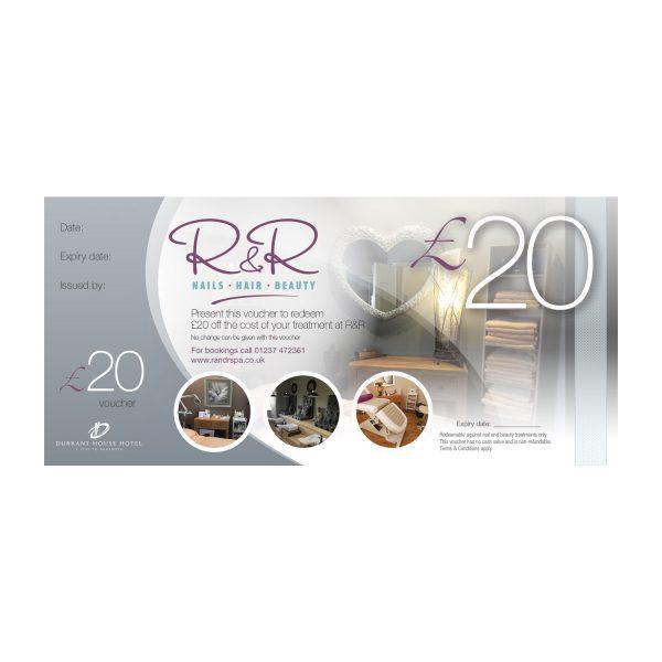 R&R Spa £20 gift voucher