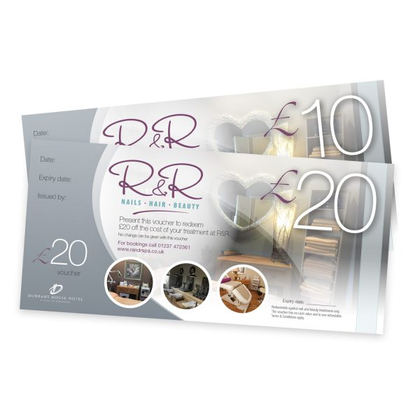 Some R&R Spa Vouchers